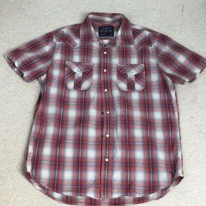 Fun American Eagle plaid shirt